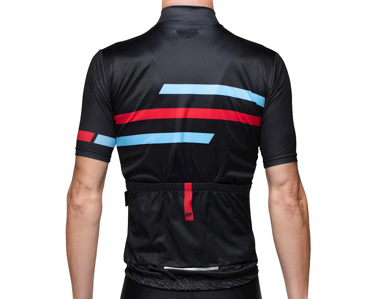 Image 2 for Bellwether Edge Cycling Jersey (Black/Blue/Red) (M)
