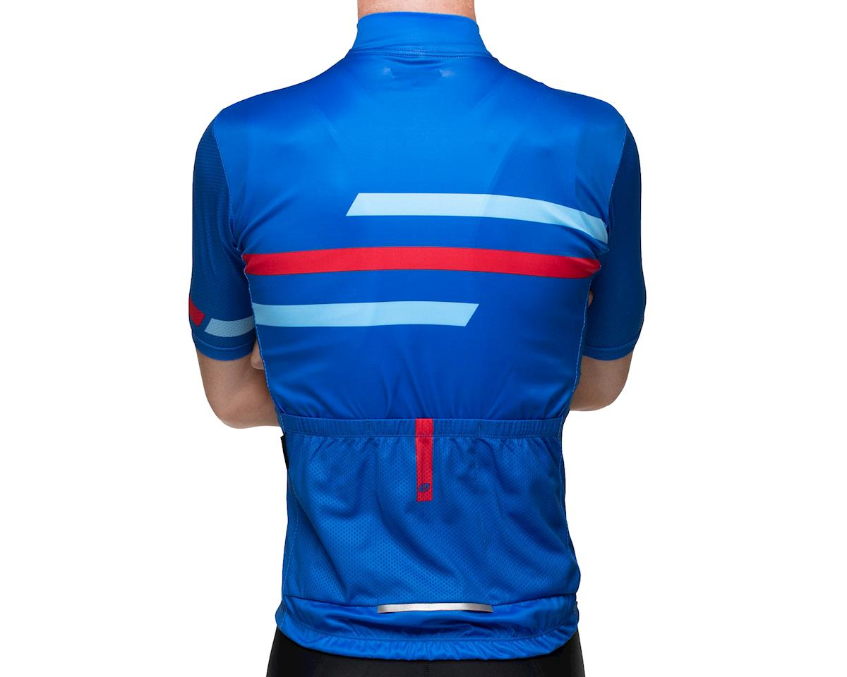 Image 2 for Bellwether Edge Cycling Jersey (True Blue/Red) (XL)