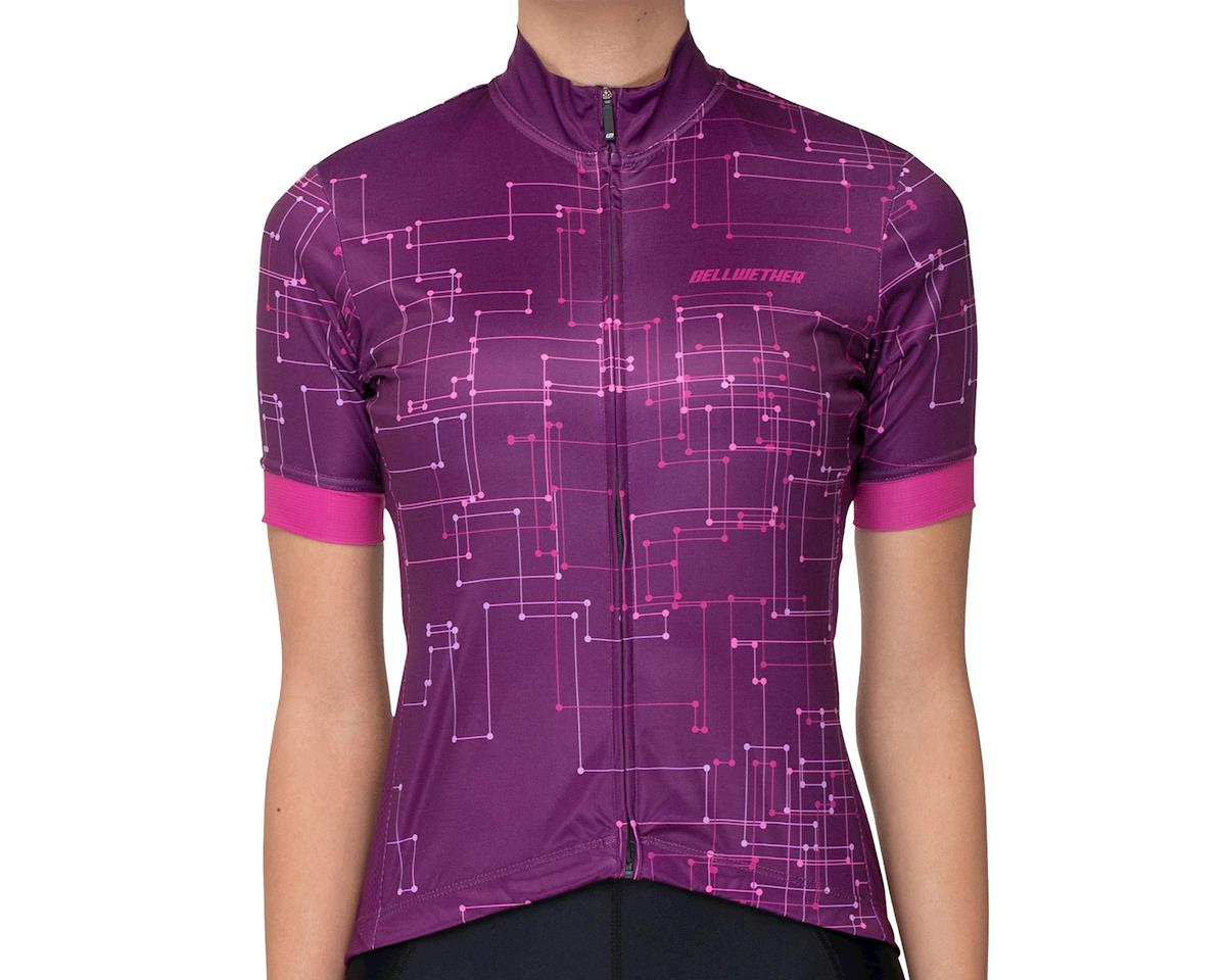 Image 1 for Bellwether Women's Galaxy Jersey (Sangria) (L)