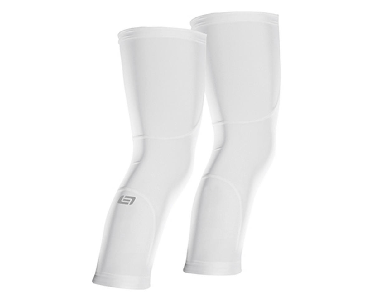 Bellwether Sol-Air Knee Cover Cycling Sun Sleeves (White) (M)