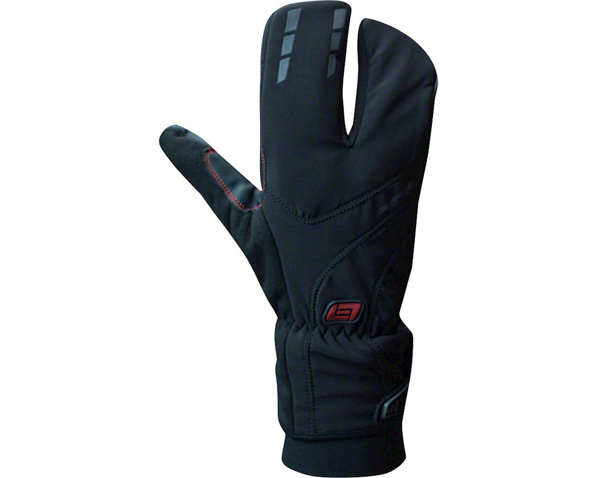 Bellwether Coldfront Split Finger Gloves - Black, Full Finger, Small (M)