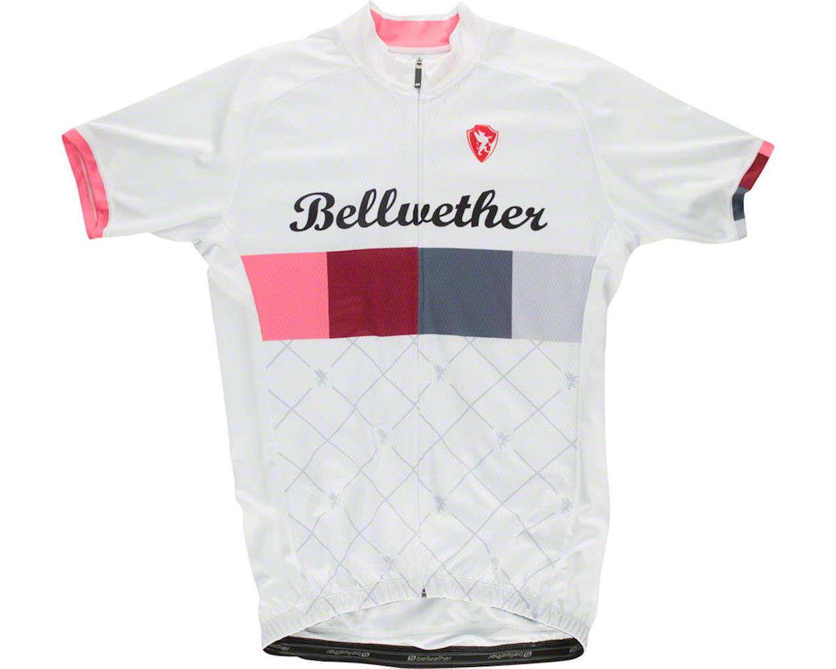 Bellwether Heritage Men's Short Sleeve Jersey: White SM