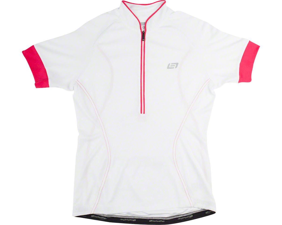 Bellwether Flair Women's Short Sleeve Jersey: White LG (M)