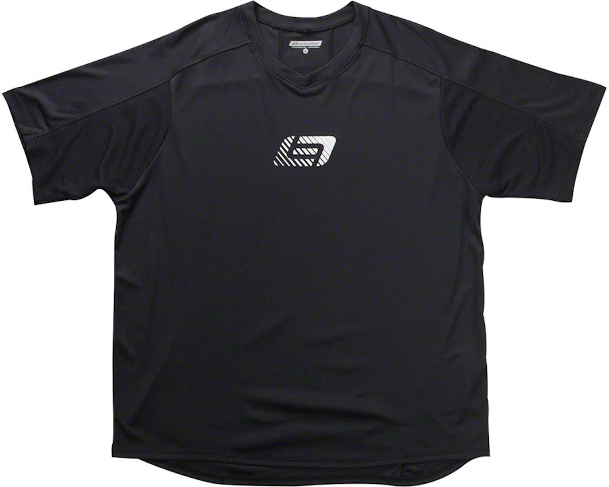 Bellwether Apex Men's Short Sleeve Jersey: Black SM (L)