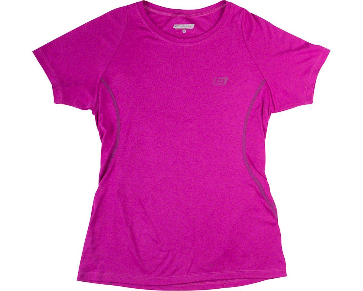 Bellwether Vista Women's Short Sleeve Jersey: Fuchsia LG (L)