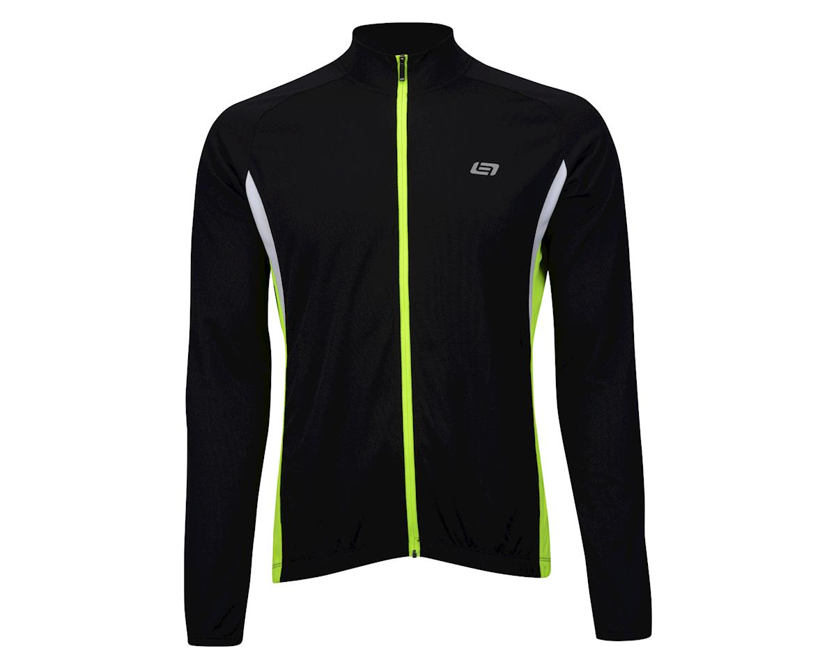 Image 2 for Bellwether Draft Long Sleeve Jersey (Black) (M)