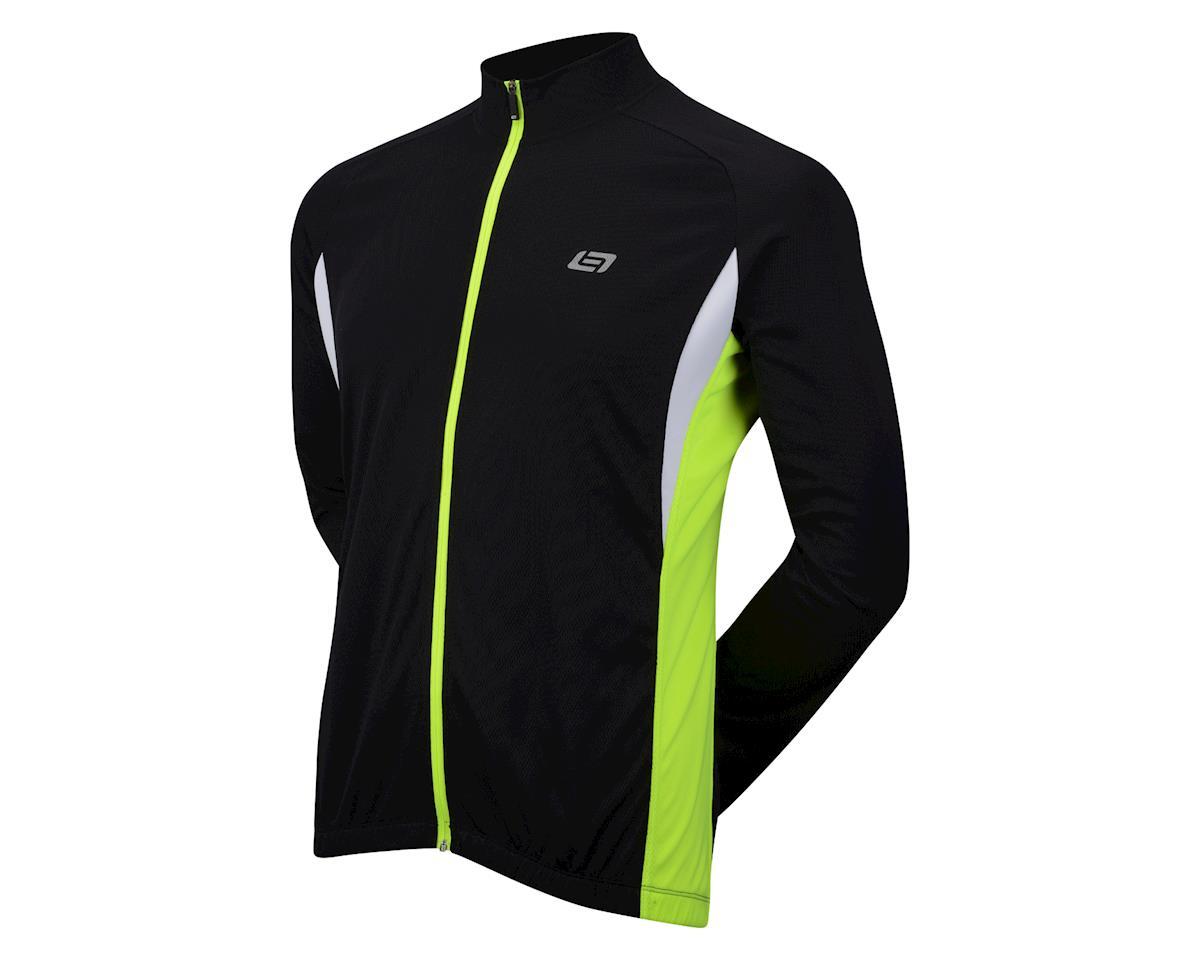 Bellwether Draft Long Sleeve Jersey (Black) (XL)