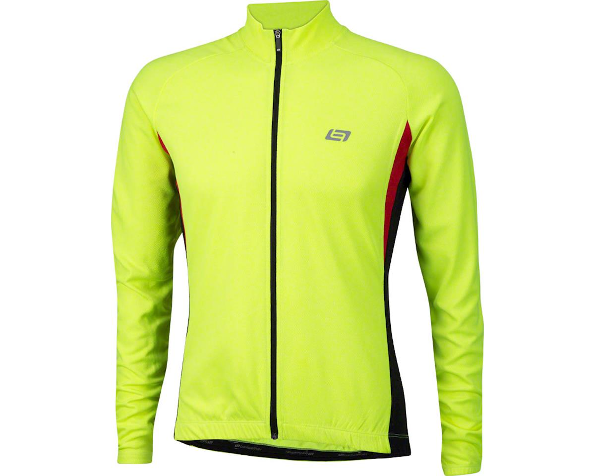 Bellwether Draft Long Sleeve Jersey (Hi-Viz) (M)