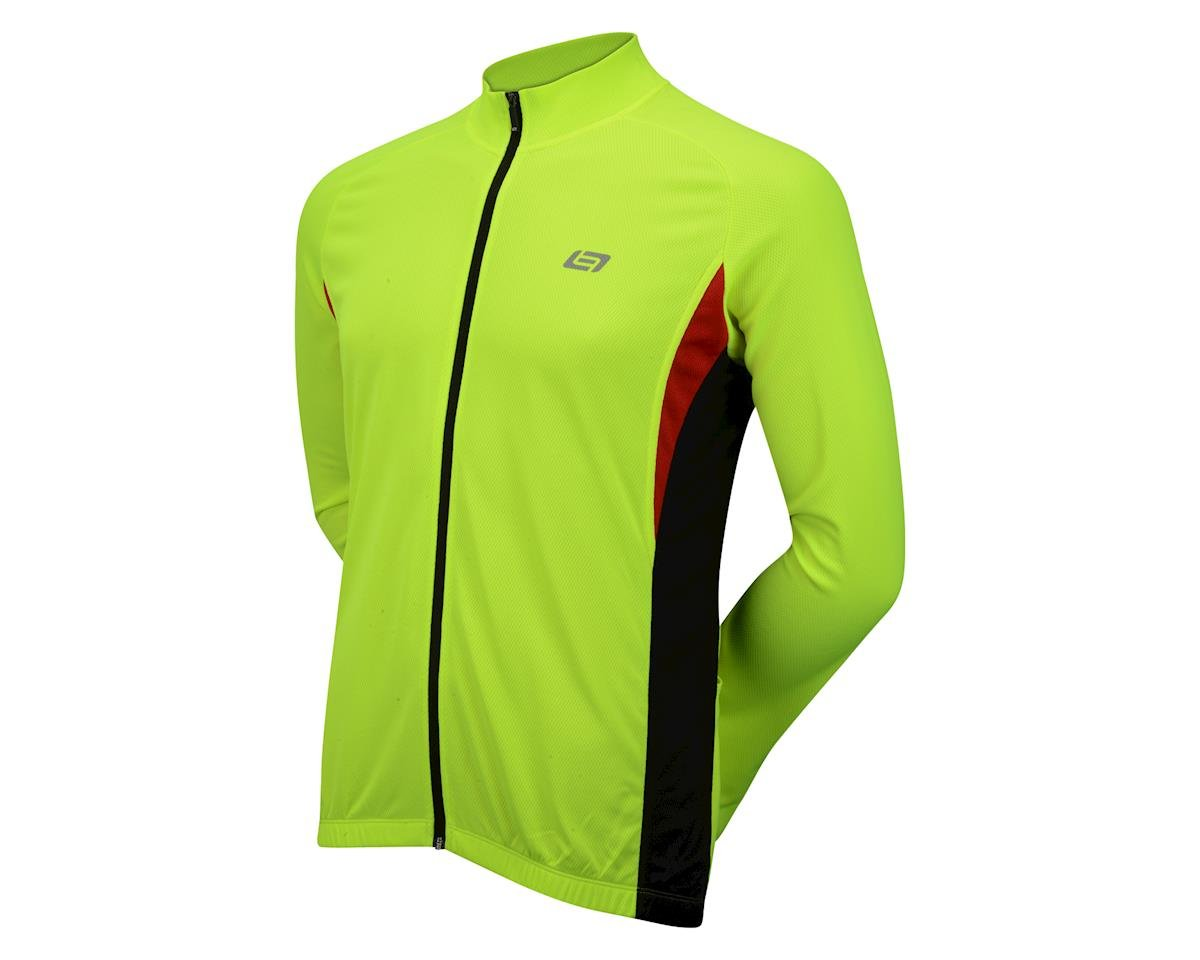 Bellwether Draft Long Sleeve Jersey (Hi-Viz) (XL)
