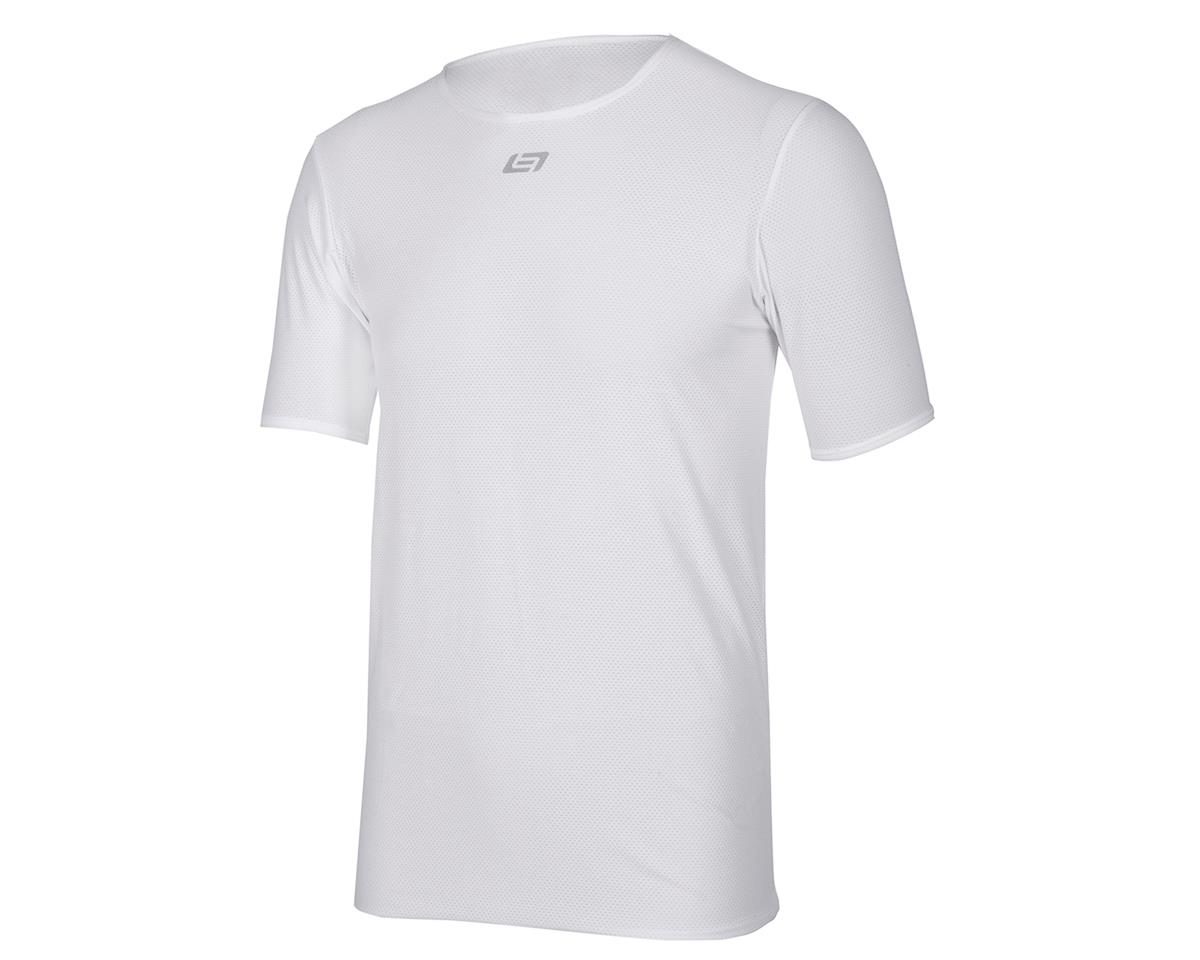 Bellwether Short Sleeve Base Layer (White) (L)