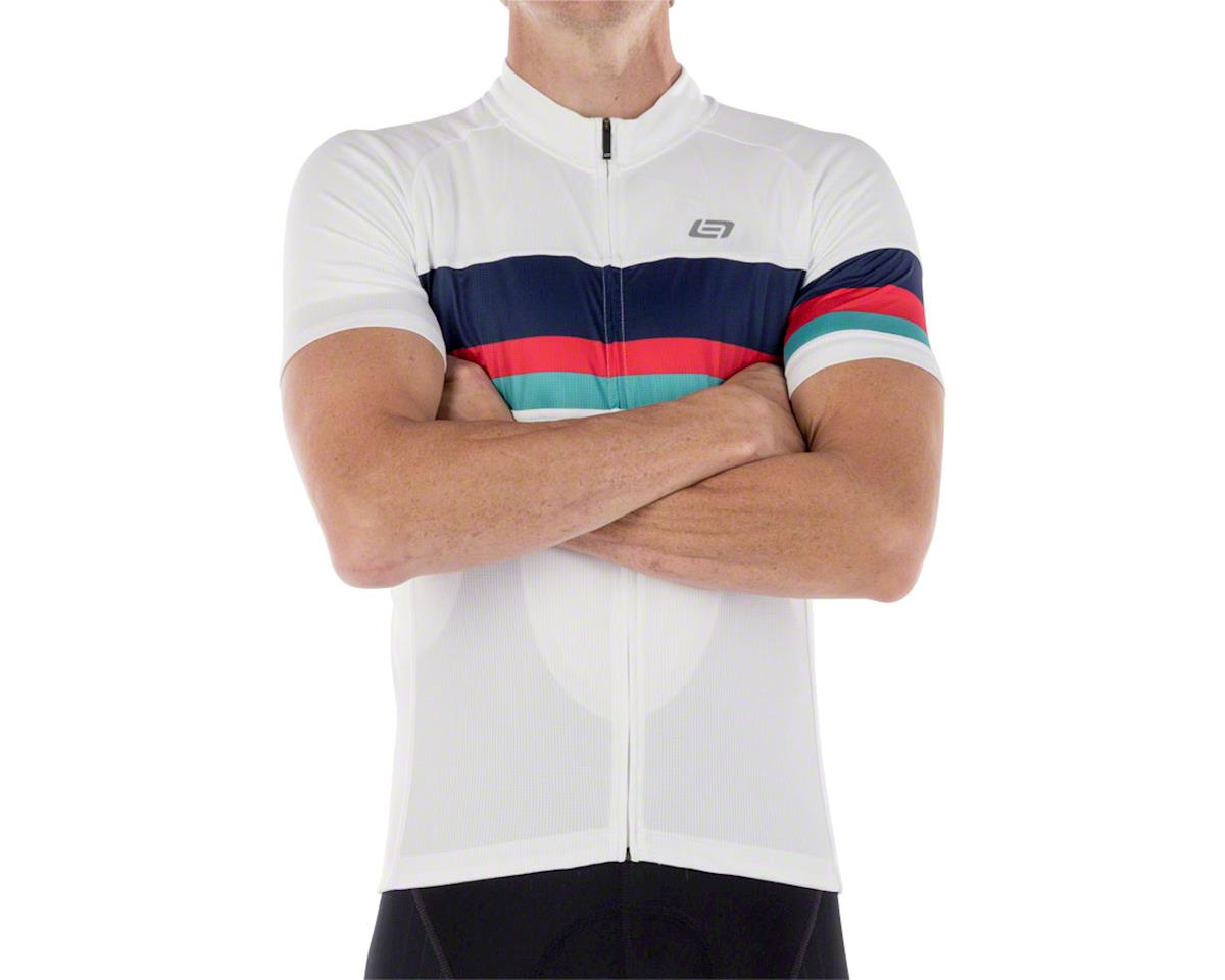 Bellwether Prestige Men's Short Sleeve Cycling Jersey (White) (S)