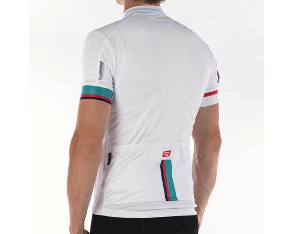 Bellwether Phase Jersey (White/Blue/Red) (L)