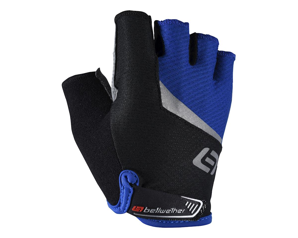 Bellwether Ergo Gel Short Finger Cycling  Gloves (Blue/Black) (XL)