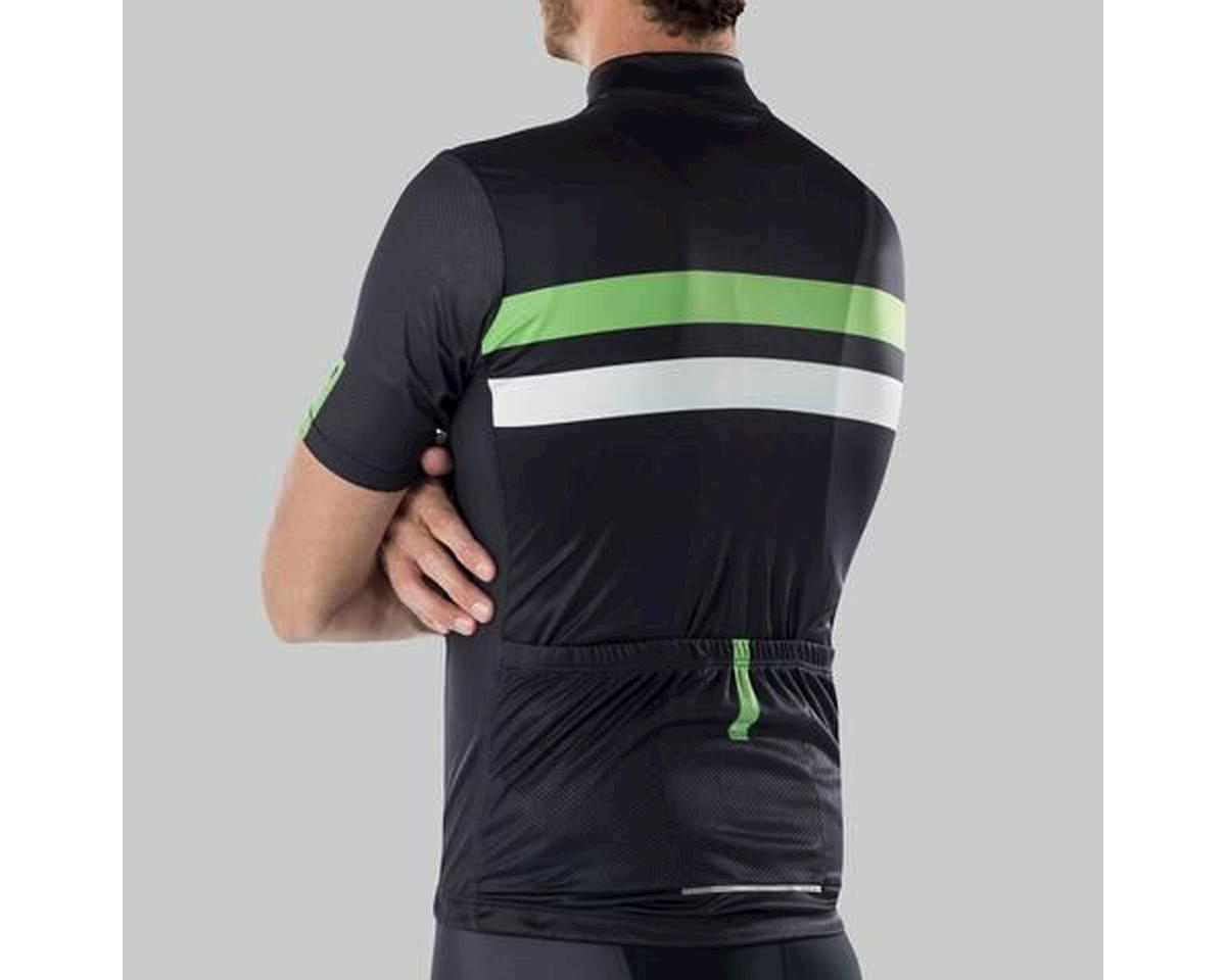 Image 3 for Bellwether Edge Cycling Jersey (Black/Citrus/White) (S)