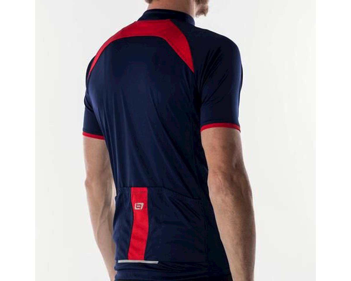 Bellwether Criterium Pro Cycling Jersey (Navy/Red) (L)