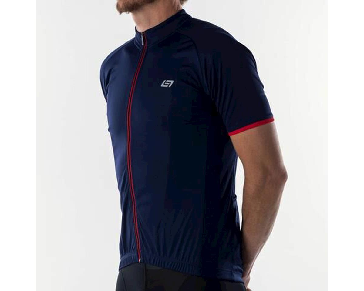 Bellwether Criterium Pro Cycling Jersey (Navy/Red) (2XL)