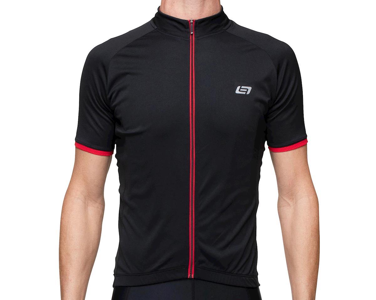 Bellwether Criterium Pro Cycling Jersey  (Black/Ferrari) (L)