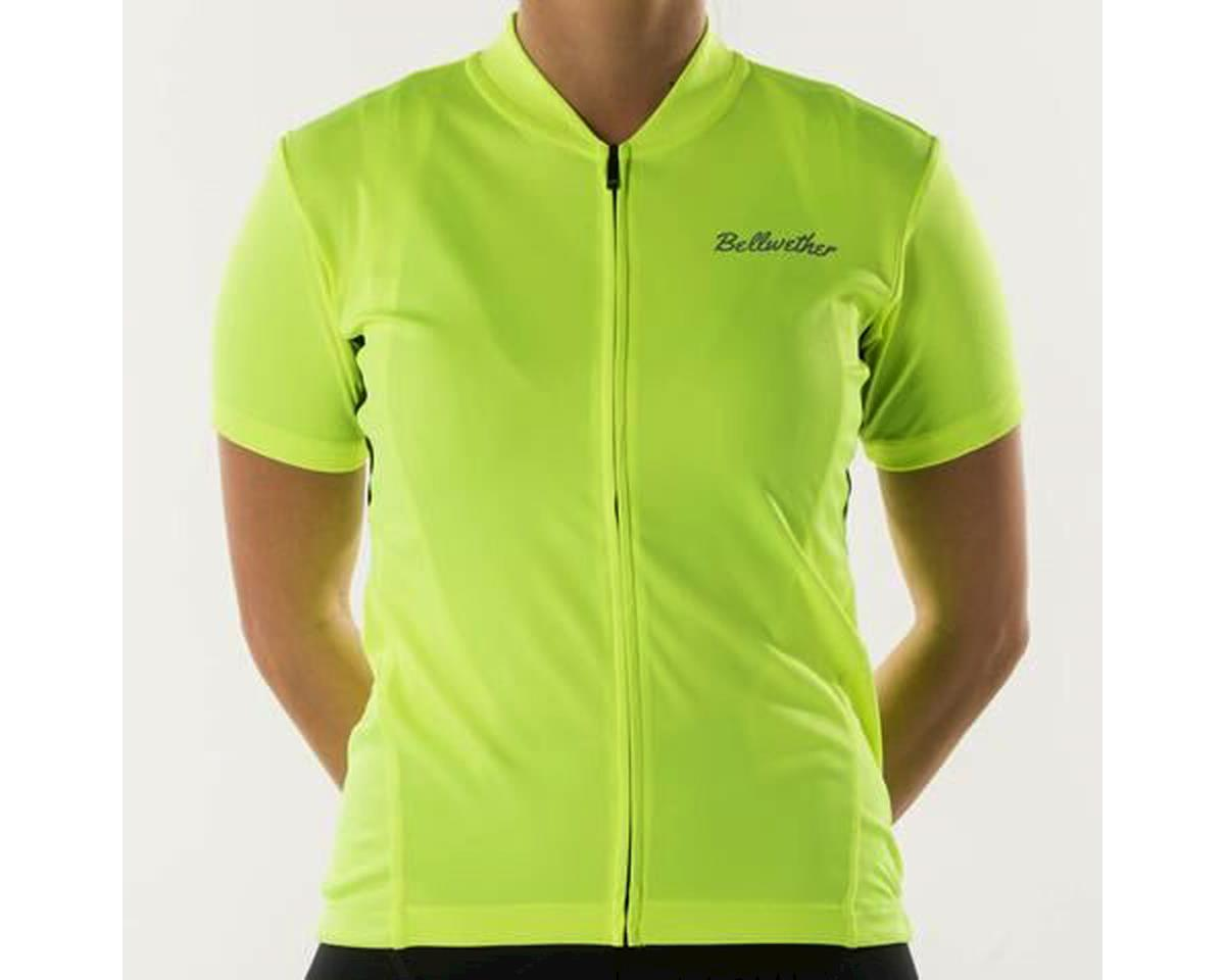 Bellwether Women's Criterium Cycling Jersey (Hi-Vis Yellow) (S)