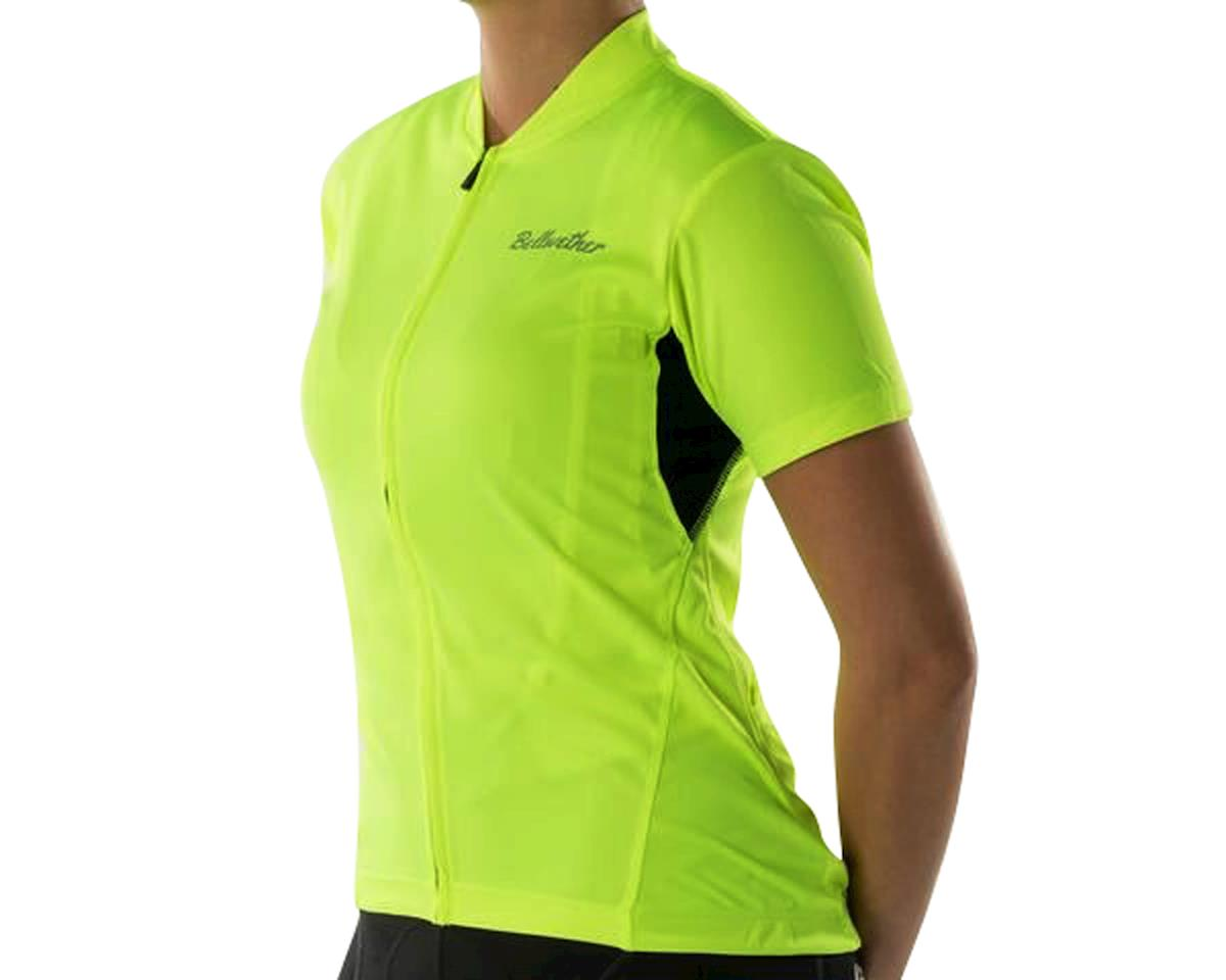 Bellwether Women's Criterium Cycling Jersey (Hi-Vis Yellow) (L)