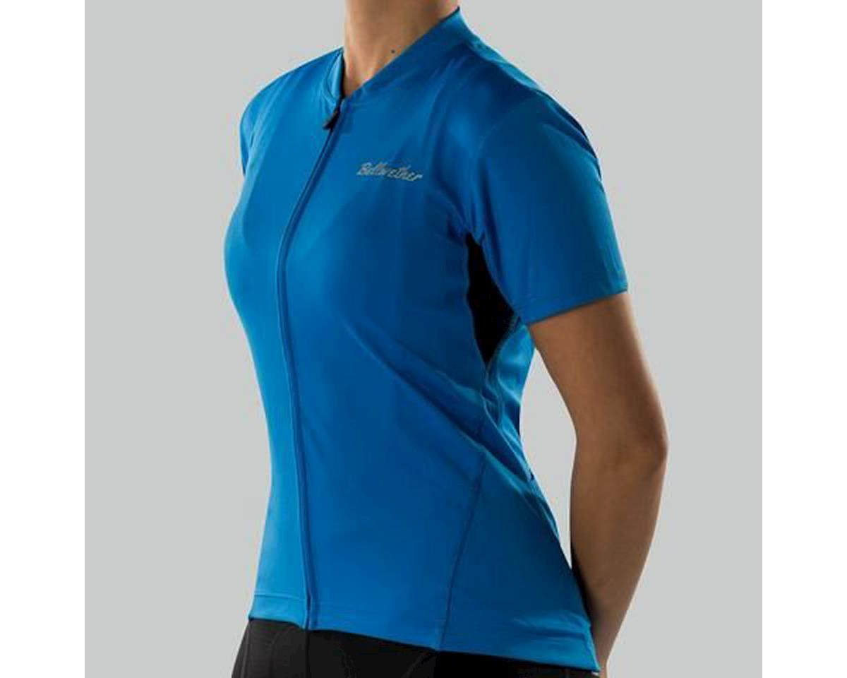 Bellwether Women's Criterium Cycling Jersey (Cyan Blue)