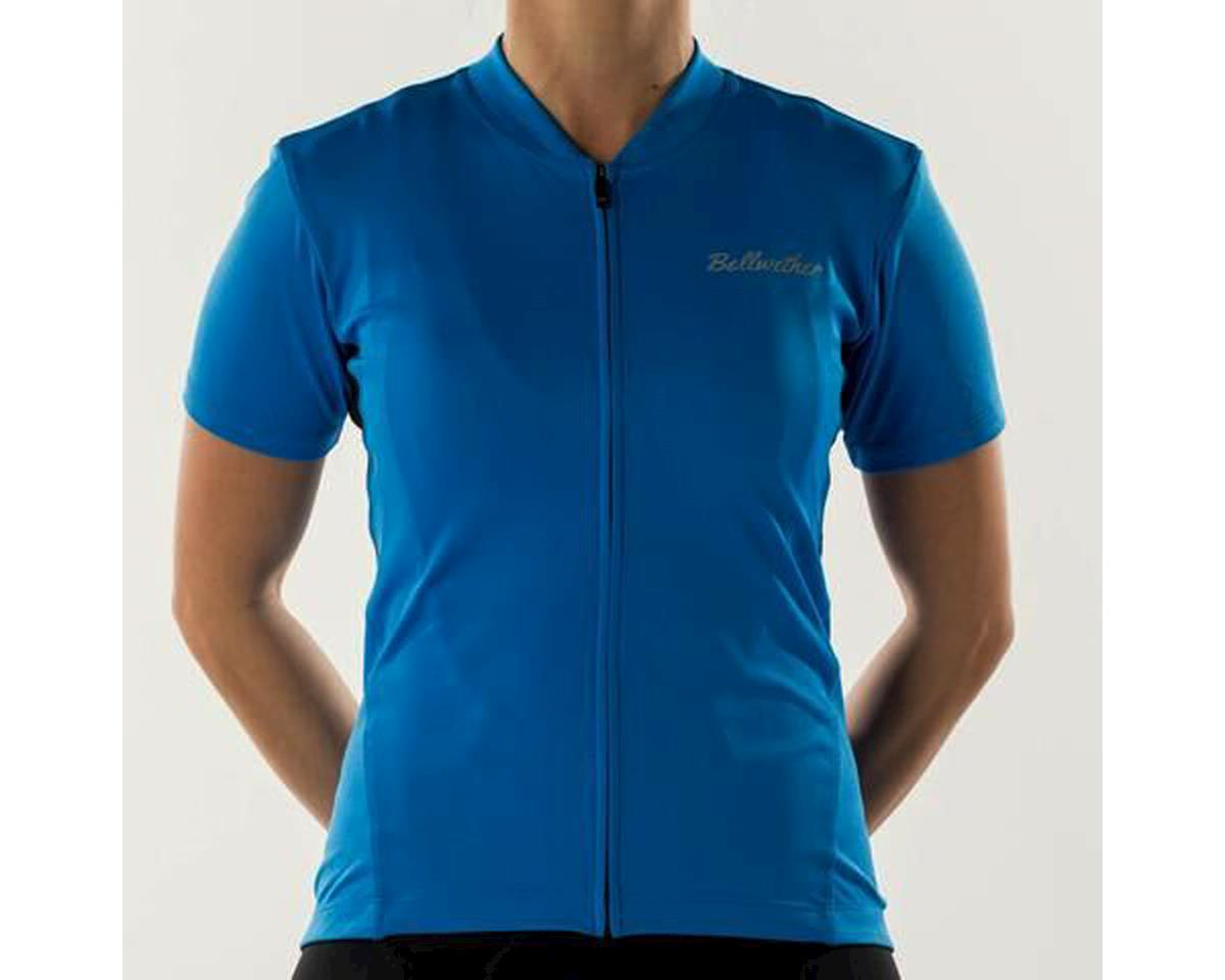 Bellwether Women's Criterium Cycling Jersey (Cyan Blue) (M)