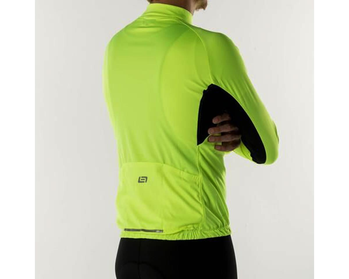 Bellwether Sol-Air UPF 40+ Long Sleeve Cycling Jersey (Hi-Vis) (L)