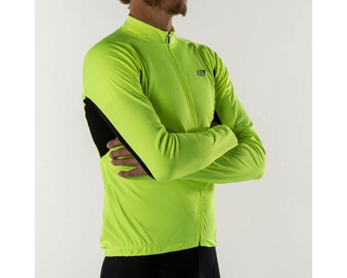 Bellwether Sol-Air UPF 40+ Long Sleeve Cycling Jersey (Hi-Vis) (XL)