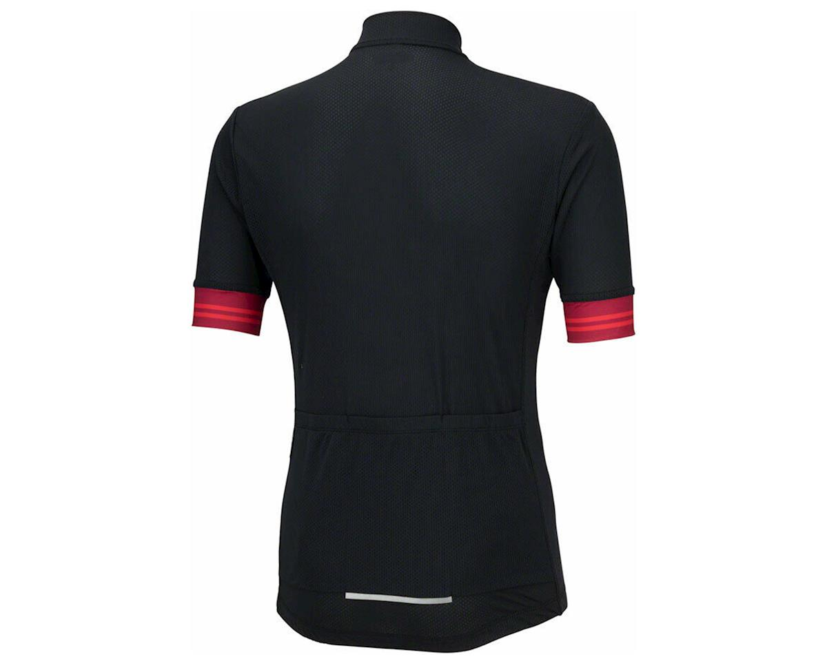 Bellwether Flight Short Sleeve Cycling Jersey (Black/Red) (L)