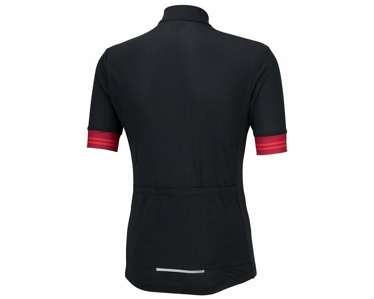 Bellwether Flight Short Sleeve Cycling Jersey (Black/Red) (XL)