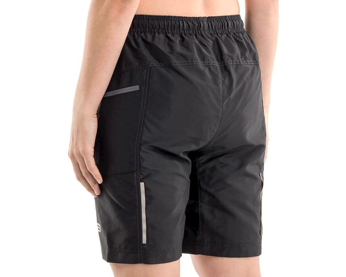 Bellwether Women's Ultralight Gel Baggies Cycling Short (Black) (L)