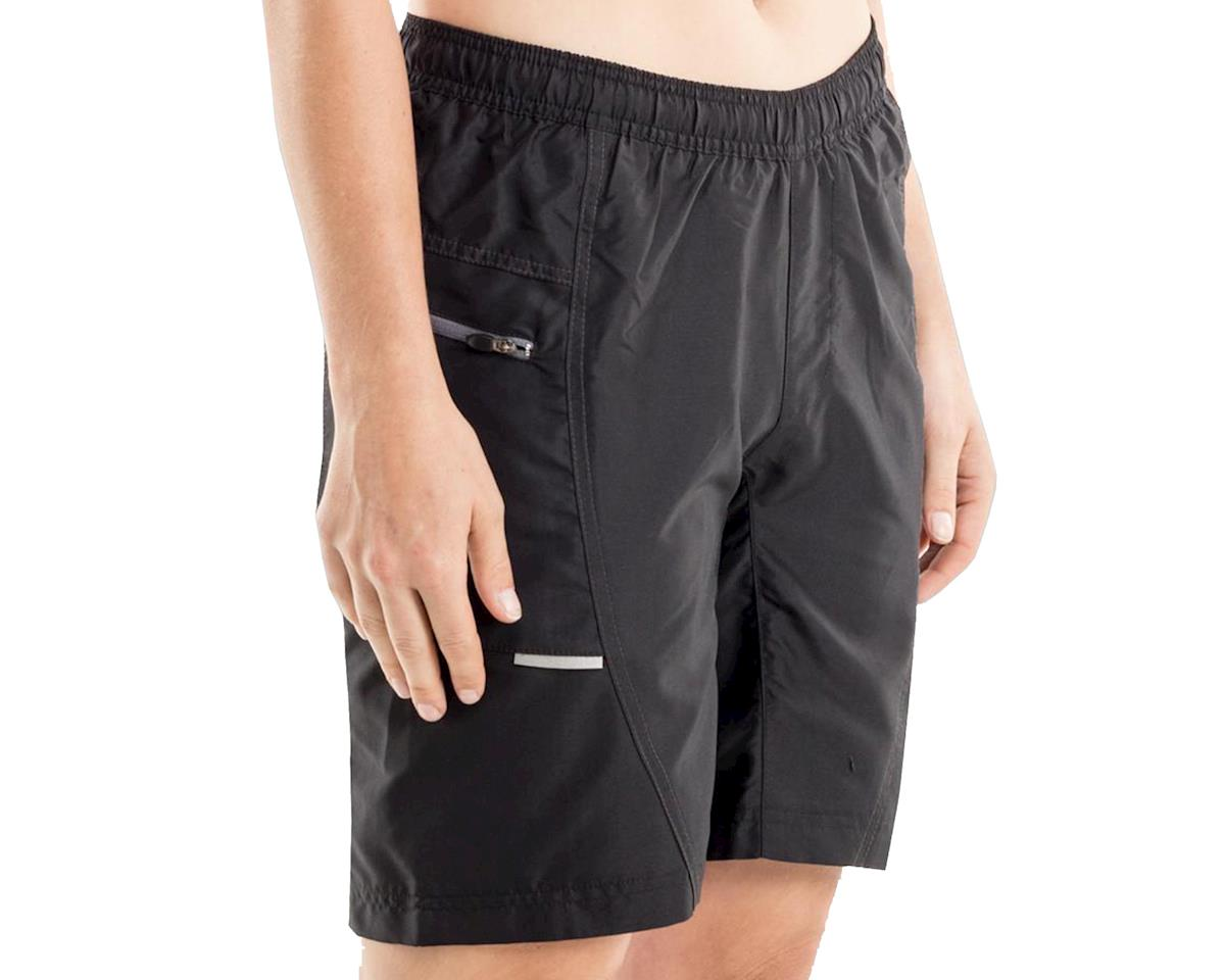 Bellwether Women's Ultralight Gel Baggies Cycling Short (Black) (XL)