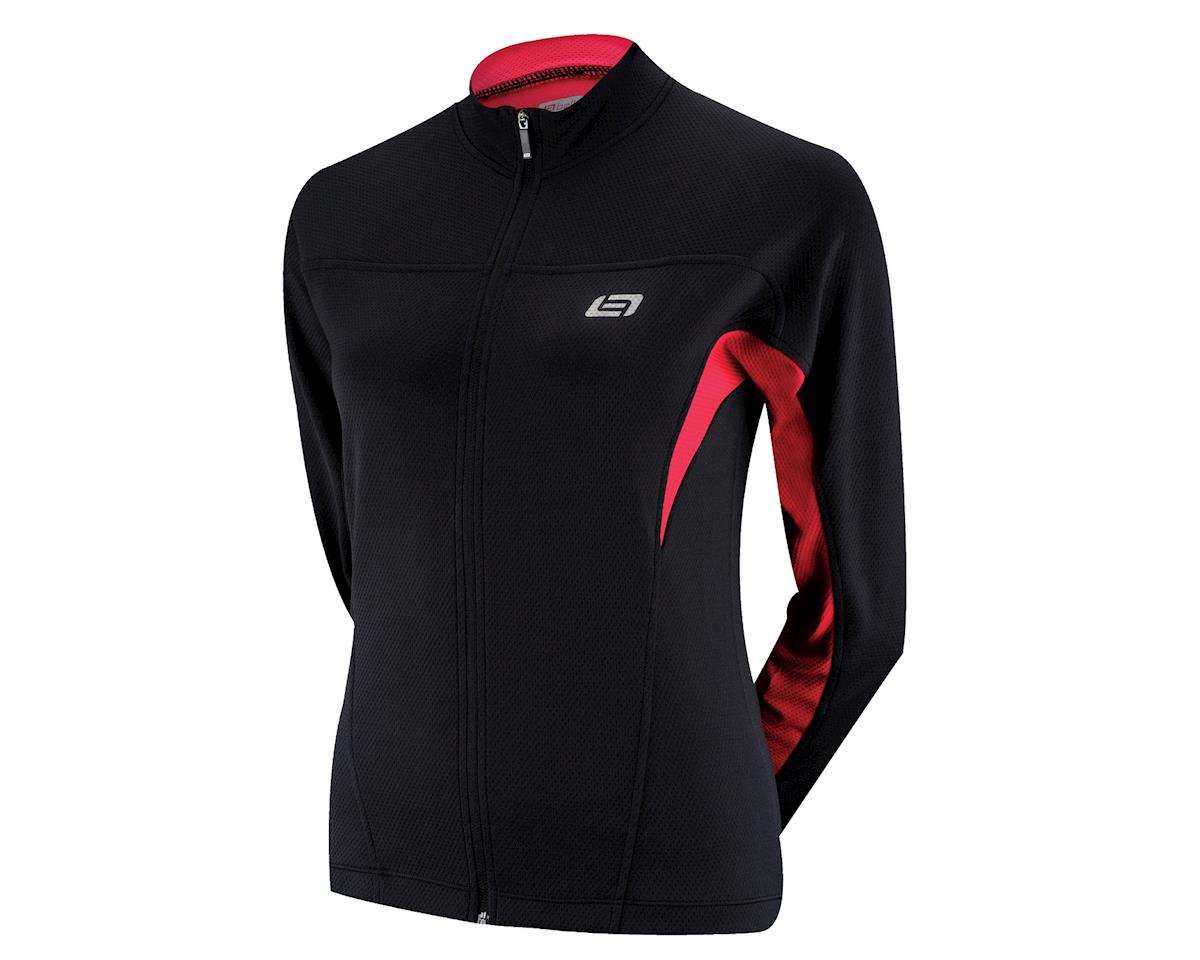 Bellwether Women's Tempo Long Sleeve Jersey (Blue) (Xlarge)