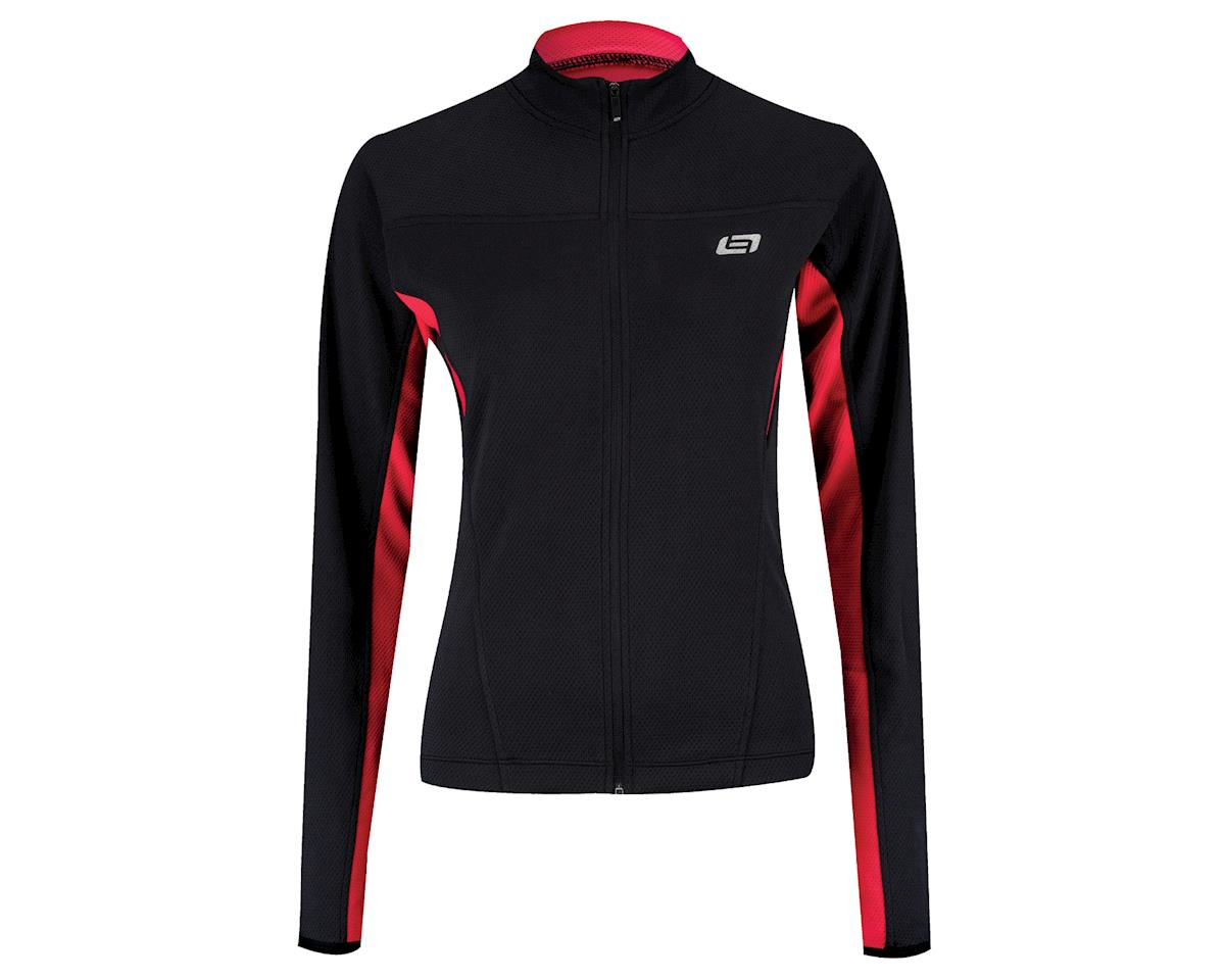 Image 2 for Bellwether Women's Tempo Long Sleeve Jersey (Blue) (Xlarge)