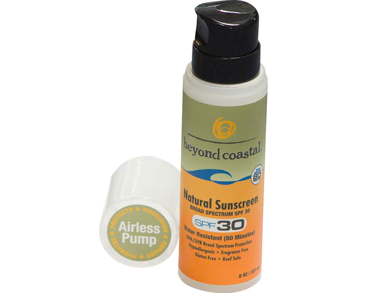 Beyond Coastal Natural Airless Pump Suncreen SPF 30: 8oz