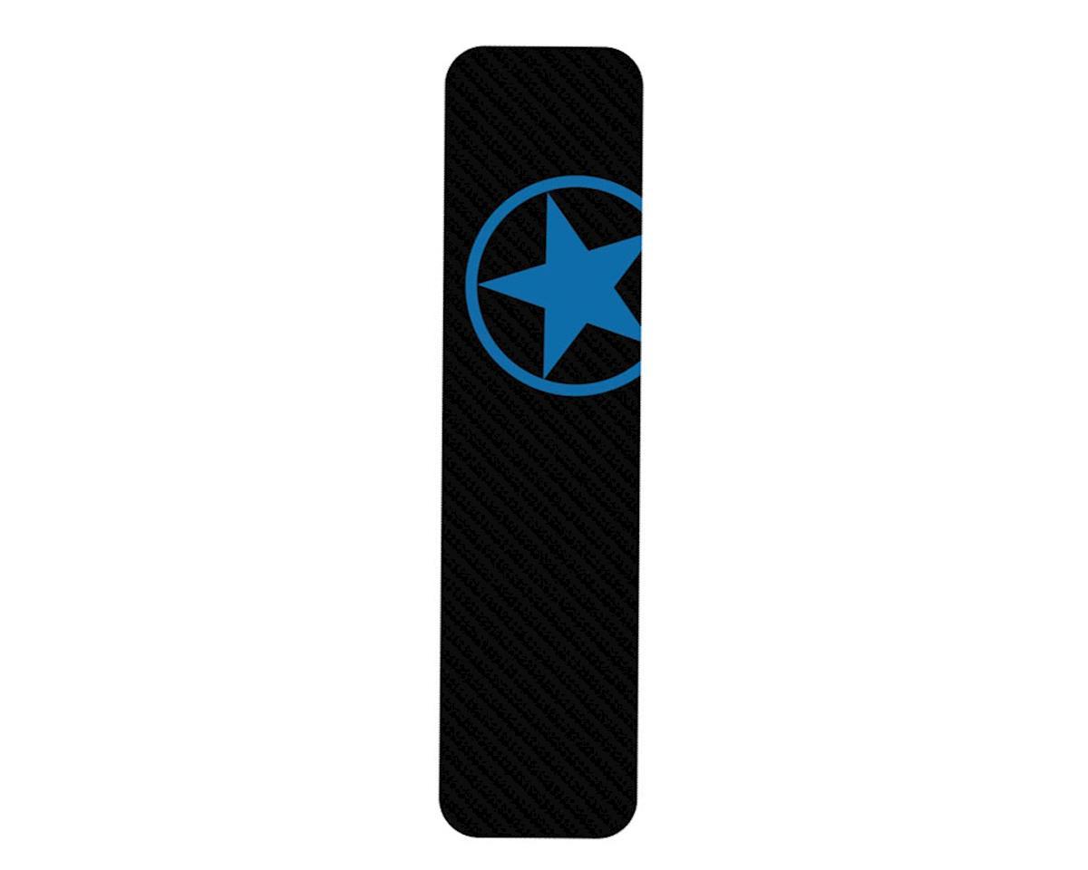 Bike Armor Downtube Frame Protector (Blue Star)