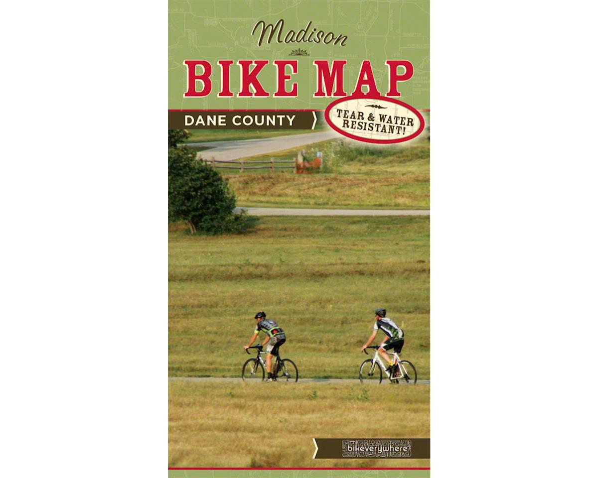 Madison and Dane County Bike Map: 4th Edition, 2015