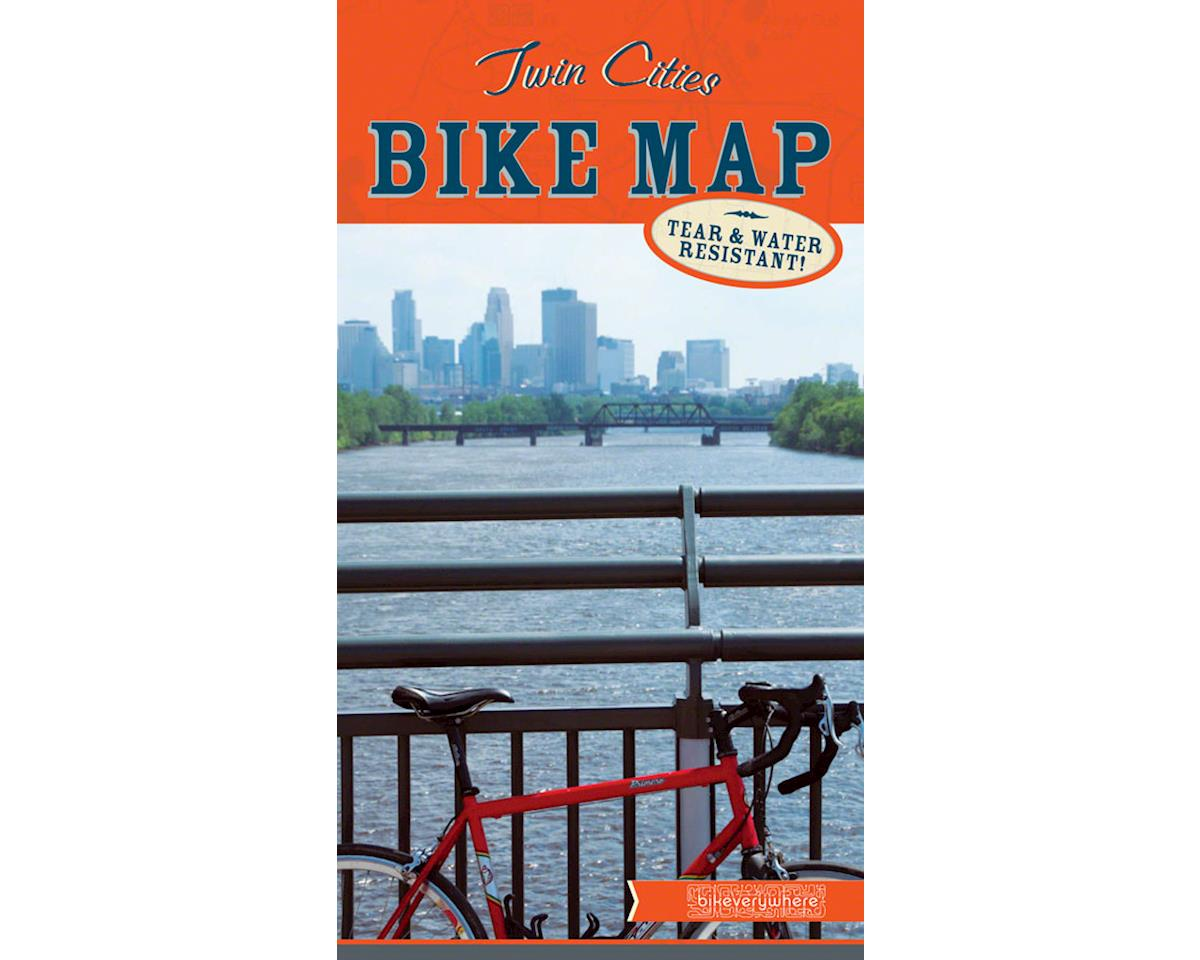 Bikeverywhere Twin Cities Bike Map (12th Edition/2018)