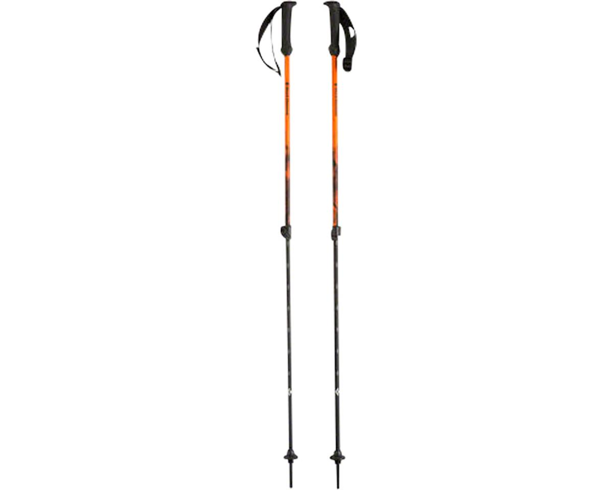 First Strike Trekking Poles: Vibrant Orange Pair
