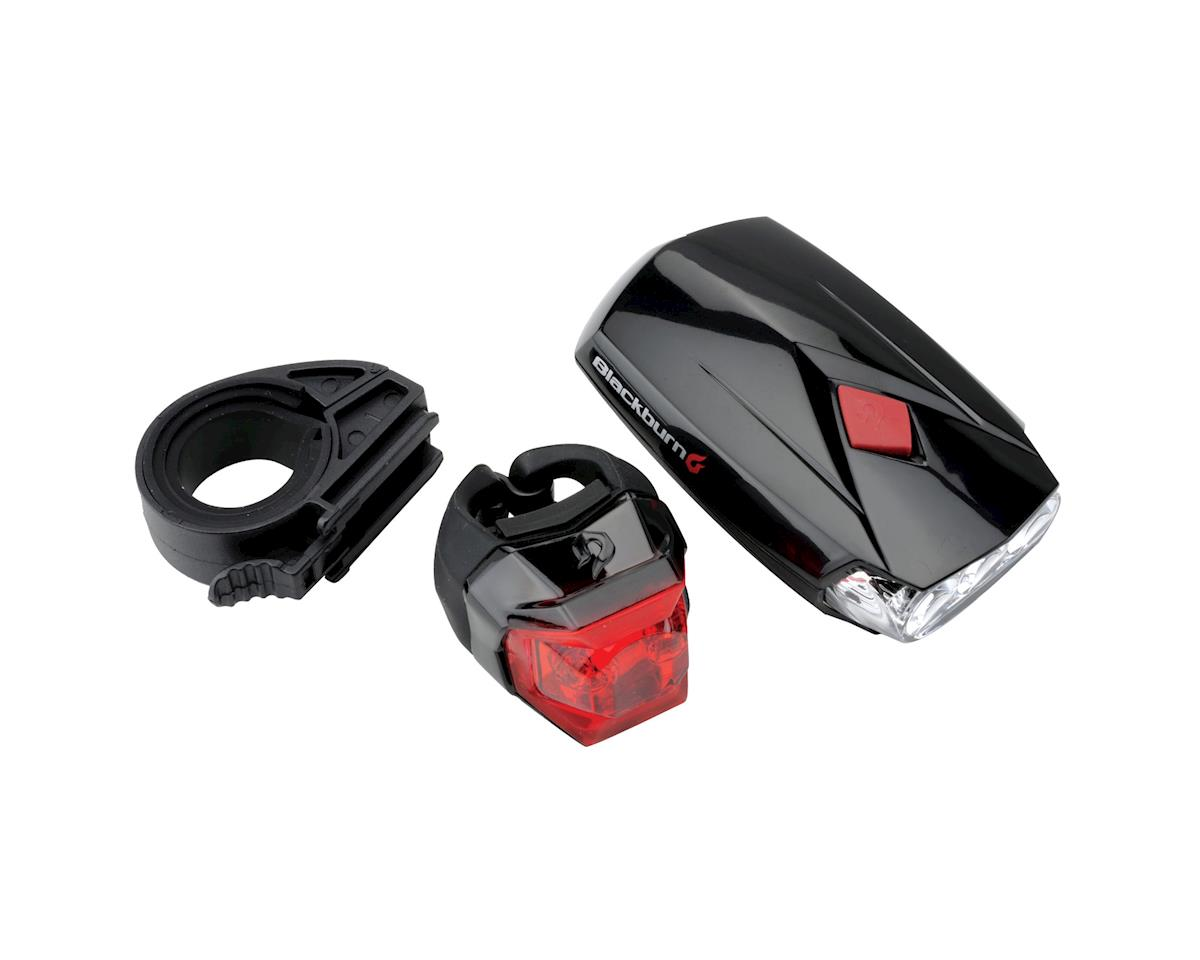 Blackburn Voyager 2.0 LED Headlight and Mars Click Tail Light Combo
