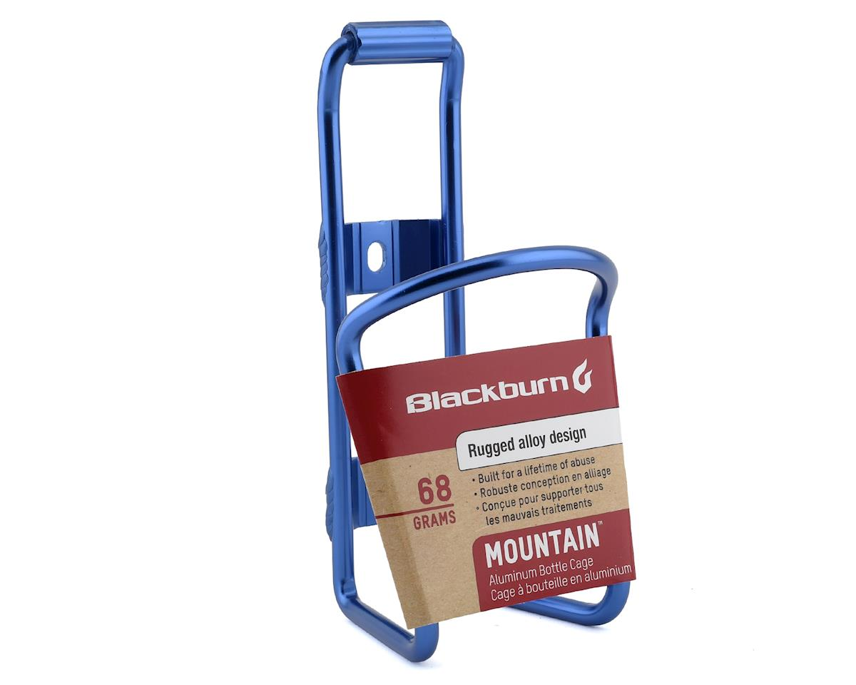 Image 2 for Blackburn Mountain Bottle Cage (Blue)