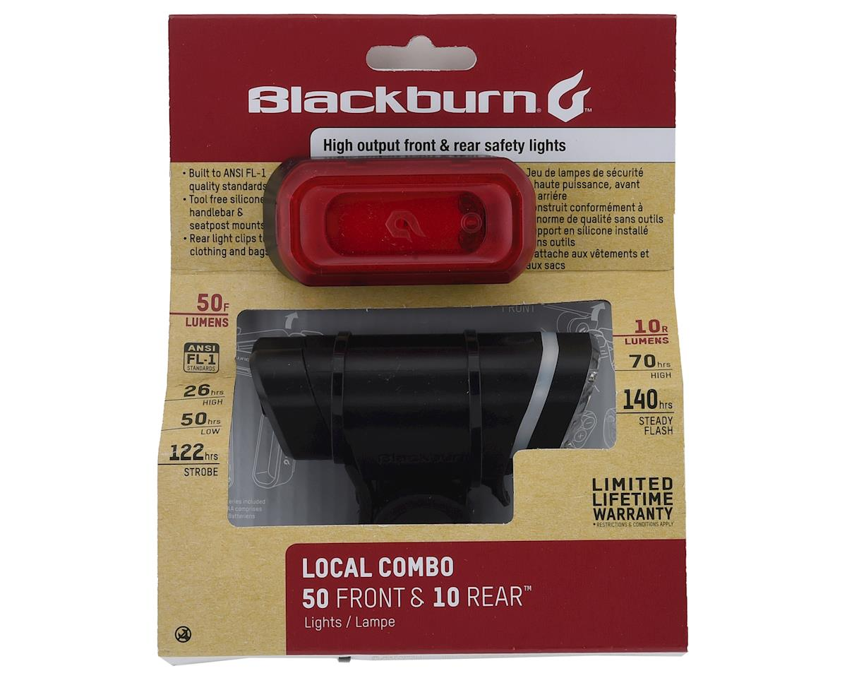 Blackburn Local 50 Front + Local 10 Rear Light Set