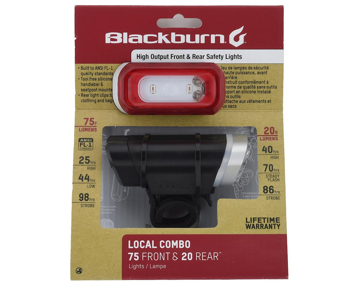 Blackburn Local 75 (Front) and Local 20 (Rear) Combo Light Set