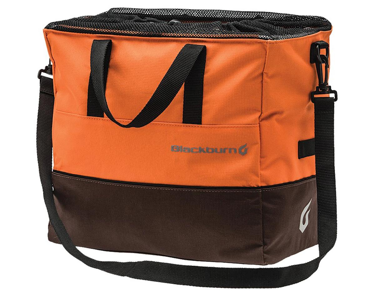 Local Grocery Pannier (Orange/Brown)