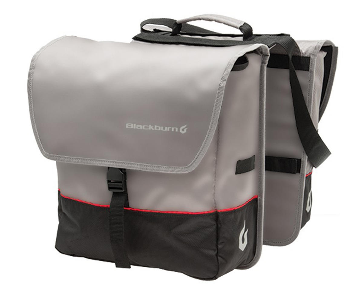 Local Saddle Bag Pannier (Grey/Black)