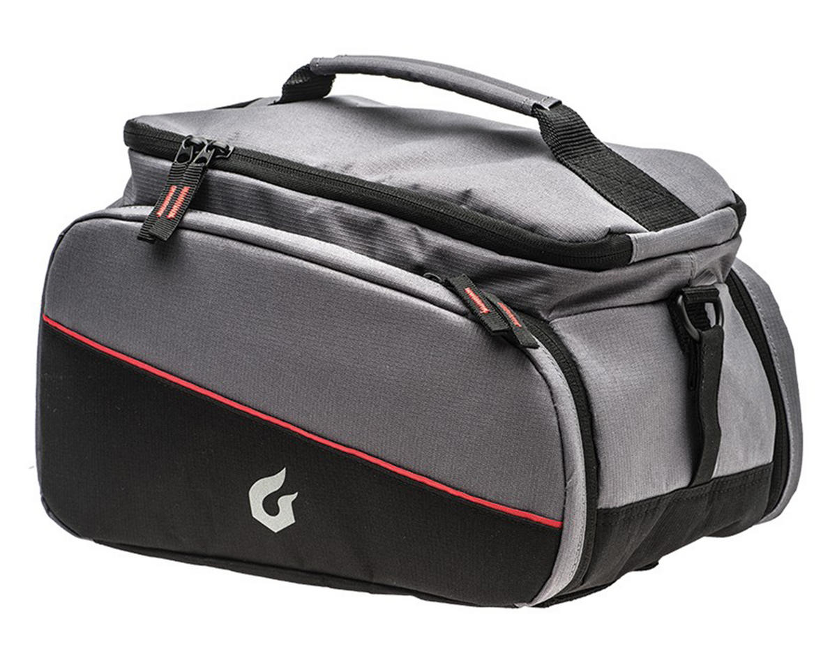Blackburn Local Trunk Bag (Black/Grey)