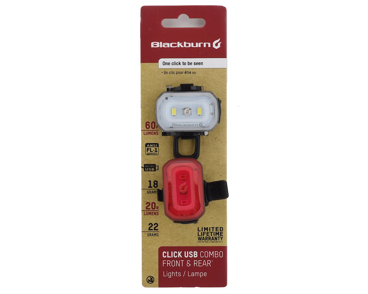 Blackburn Click USB Combo Light Set (Black)
