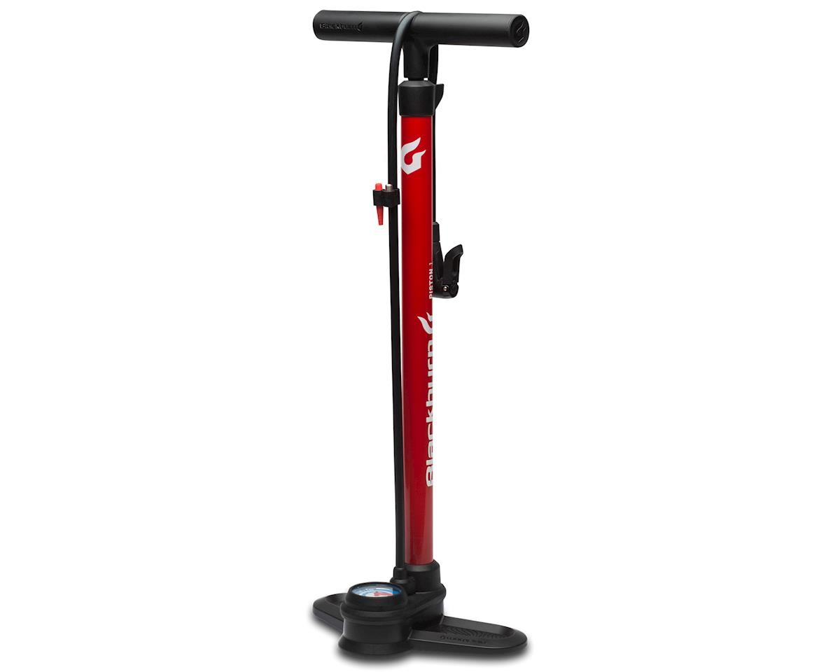Blackburn Piston 1 Floor Pump (Red/White/Blue)