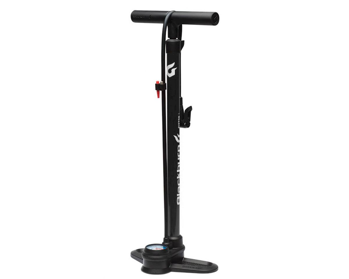 Blackburn Piston 1 Floor Pump (Matte Black)