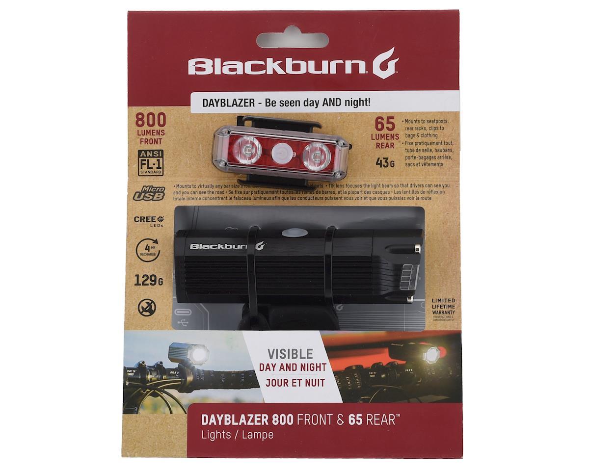 Blackburn Dayblazer 800 (Front) and Dayblazer 65 (Rear) Light Set