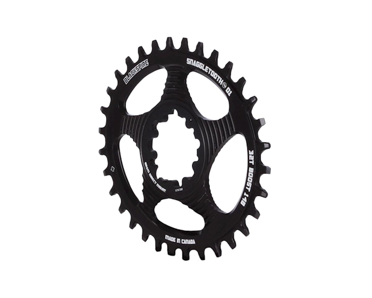 Blackspire Snaggletooth GXP Boost DM Oval NW Chainring (Black) (32T)